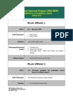 Plan Tindalan LINUS 2015