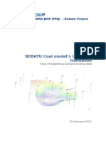 001 Coal Model Updating Handbook
