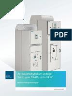 Catalog HA 25.71 Circuit-Breaker Switchgear NXAIR