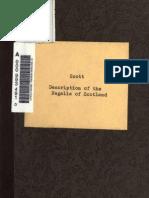 (1864) Description of the Regalia of Scotland