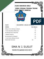 Tugas Bahasa Bali