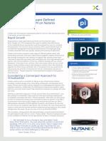 Nutanix Pi Case Study