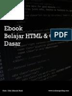 Belajar HTML Dasar Pengertian HTML v2