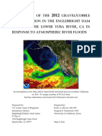 Assessment of the 2012 Gravelcobble Augmentation in the Englebright Dam Reach of the Lower Yuba River, CA in Response to Atmospheric River Floods