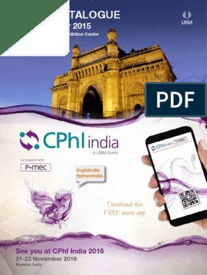 CIPHI | Pharmaceutical Industry | Mumbai