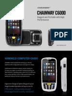 Chainway C6000 Mobile Computer