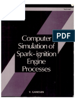 Computer Simulation of Spark-Ignition Engine Processes