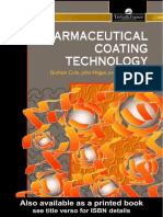Pharmaceutical Coating Technology Good Book