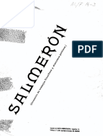 Salmeron, Trabajos Filosoficos y Discursos