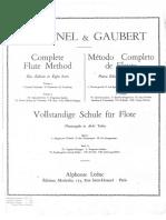 Taffanel Gaubert - Parte - I a IV