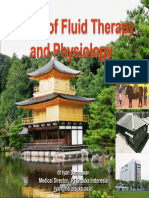 Basics of Fluid Therapy and Physiology