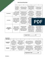 Senior Research Paper Rubric (Revised) (1)