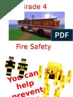 grade 4 fire presentation