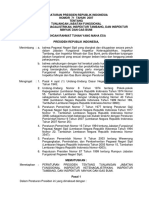 Peraturan Presiden Republik Indonesia Nomor 71 Tahun 2007 Tentang Tunjangan Jabatan Fungsional Inspektur Ketenagalistrikan Inspektur Tambang Dan Inspektur Minyak Dan Gas Bumi