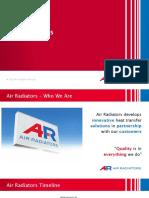 Air Radiators Company Presentation
