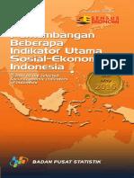 Perkembangan Beberapa Indikator Utama Sosial Ekonomi Indonesia Mei 2016