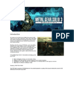Metal Gear Solid 3 - Subsistence - PS2