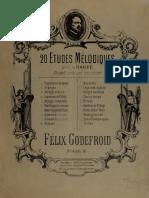 20 Etudes Melodiques Godefroid