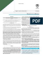 Diario oficial de Colombia n° 50.150. 17 de febrero de 2017