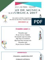 1º Dia Curso de Musica Litúrgica Penha