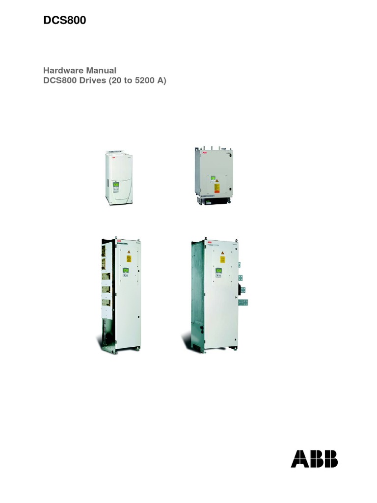 3ADW000194R0801 DCS800 Hardware Manual e h.pdf | Switch | Cable