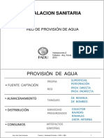 Teorica 1. Sanitarias Provisión (2016) i2 Famá