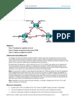 9 2 1 4 Lab Designing and Implementing a VLSM Addressing Scheme