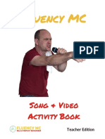 Sample Unit Fluency MC Song and Video Activity Book