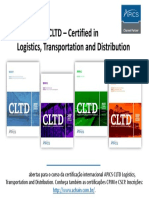 aChain APICS CLTD Logistics, Transportation and Distribution