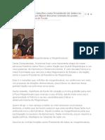 Assumo as Minhas Funções Como Presidente de Todos Os Moçambicanos