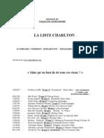 Liste de personnes disparues (enquete Charlton)