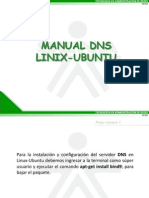 Manual DNS Linux Ubuntu