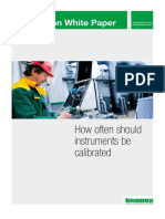 Beamex White Paper - How Often Should Instruments Be Calibrated ENG