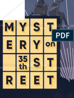 The Mystery On 35th Street Programme
