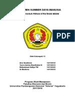 Makalah - Kasus Peran Strategis MSDM