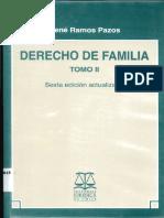 RAMON RAMOS PAZOS DERECHO DE FAMILIA