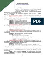 Tematica Examen Ian Feb 2017
