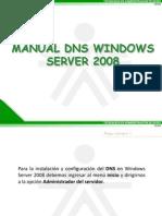 Manual DNS Windows 2008
