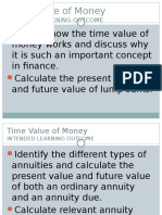 Chap 3 Time Value of Money