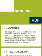 Continuation of Short-term Financing