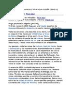 ALEXANDER VON HUMBOLDT EN NUEVA ESPAÑA (MEXICO) 100707