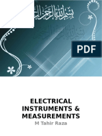 Electrical Instruments First Lecture