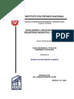 Evolución y Aplicación de Los Registros Resistivo-Inductivos