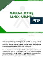 Manual Mysql Linux Ubuntu