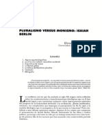 Pluralismo vs Monismo