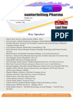 3rd Anti-Counterfeiting Pharma Conference 2017