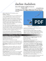 Oct 2009 Apalachee Audubon Society Newsletter