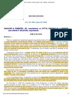 Pimentel Jr vs Llorente _ AC 4680 _ August 29, 2000 _ J