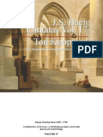 Bach Ton Cantatas Vol17