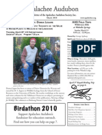 MAR 2010 Apalachee Audubon Society Newsletter